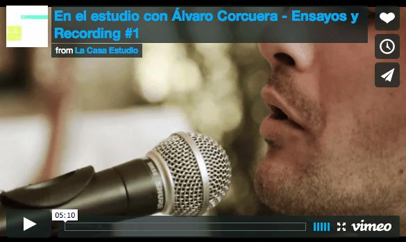 En El Estudio Con Álvaro Corcuera